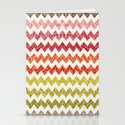 TRIBAL CHEVRON PATTERN Stationery Cards