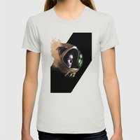 Ripley Womens Fitted Tee Silver SMALL