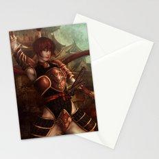 Samurai Stationery Cards