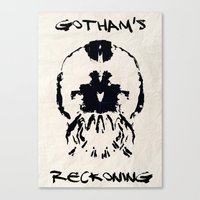Gotham's Reckoning  Canvas Print