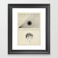 I've Been To The Moon Framed Art Print