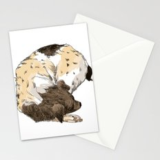 Sleeping Dog #002 Stationery Cards
