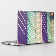 Turquoise Neon Laptop & iPad Skin