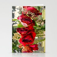 Cemetery symbolism Stationery Cards