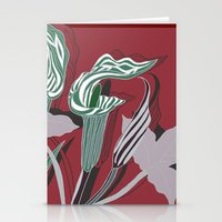 Arum Lilies IV. Stationery Cards