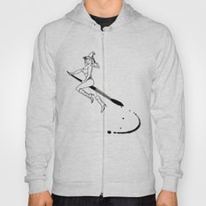 broom and brush witchcraft Hoody