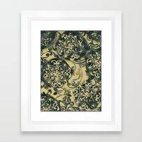 The Queen's Blanket Framed Art Print