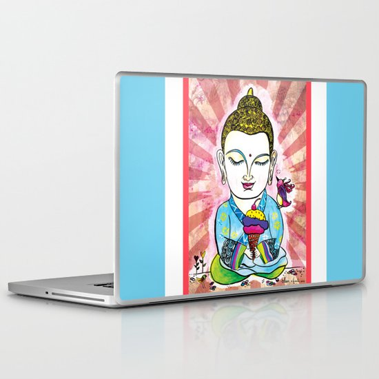 Buddha's Delight Laptop & iPad Skin