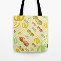 Banana & Peanut Butter Tote Bag