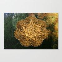 Celtic Gold Canvas Print