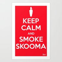 Smoke Skooma Art Print