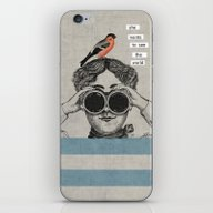 She Wants To See The Wor… iPhone & iPod Skin