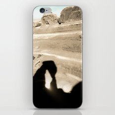 Delicate Arch shadow iPhone & iPod Skin