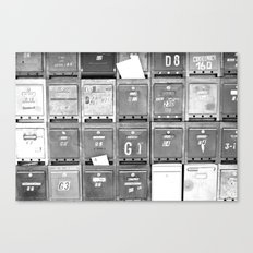 Mailboxes II Canvas Print