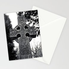 Celtic cemetery cross Stationery Cards