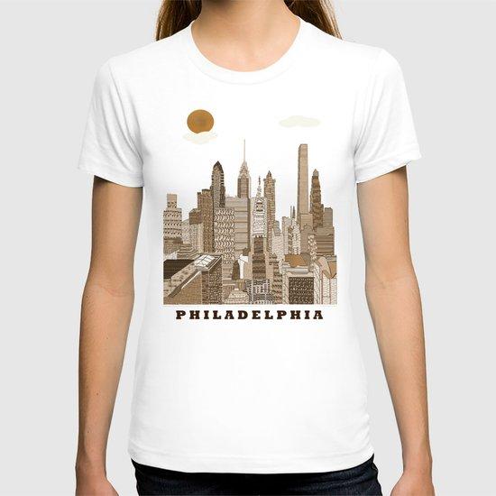 Philadelphia skyline vintage T-shirt