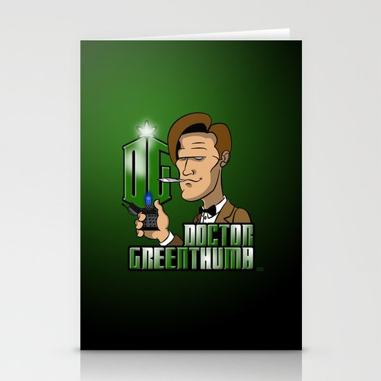 Doctor Greenthumb Stationery Card