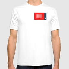 Democracy White SMALL Mens Fitted Tee