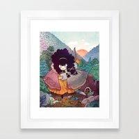 Sisters 2/5 Framed Art Print