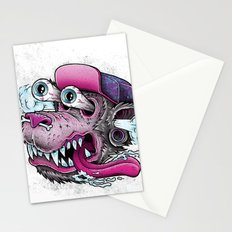 Wolf Dude Stationery Cards