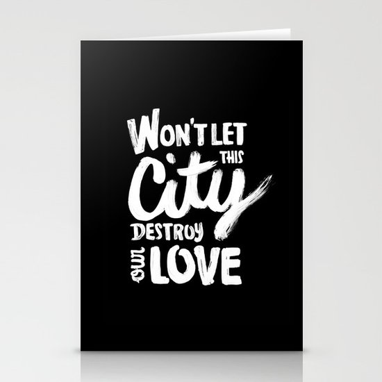 This City Stationery Card
