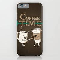 coffee iPhone & iPod Cases featuring Coffee Time! by powerpig