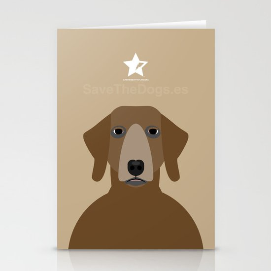 Pointer Stationery Card