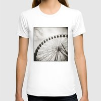 { ferris day out } Womens Fitted Tee White SMALL