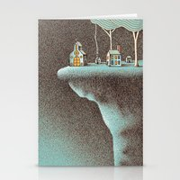community Stationery Cards featuring The Secluded Community by Nate Armstrong