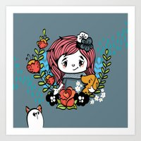 Pet Lover Art Print