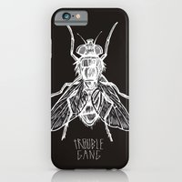 iPhone & iPod Case featuring TROUBLE RIPPER / TROUBLE FLY by mark kowalchuk