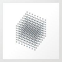 #512 2^9 – Geometry Da… Art Print