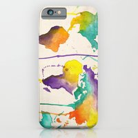 iPhone & iPod Case featuring World Splash by Camis Gray