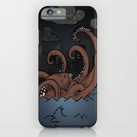 Octopi Movement  iPhone 6 Slim Case