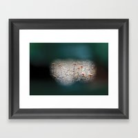 Curiosity 7 Framed Art Print