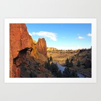 Chain Reaction Smith Rock, OR Art Print