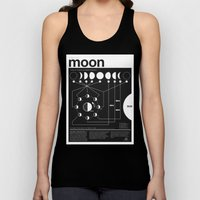 Phases Of The Moon Infog… Unisex Tank Top