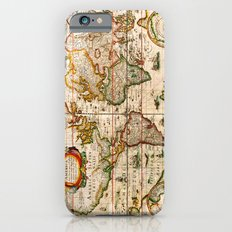 Vintage Map iPhone 6 Slim Case