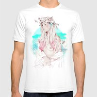 Gioconda Mens Fitted Tee White SMALL