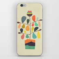 Potted Plant 4 iPhone & iPod Skin