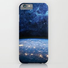 Earth and Galaxy iPhone 6 Slim Case