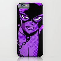 iPhone & iPod Case featuring Ladies of DC - Catwoman by Casa del Kables