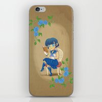 Retro Sailor Mercury iPhone & iPod Skin