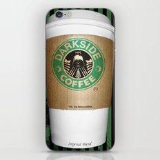 Black Coffee iPhone & iPod Skin