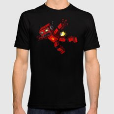 Incinertron SMALL Black Mens Fitted Tee