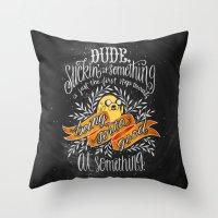 Wisdom of Jake Throw Pillow