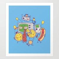 Woohoo! Art Print