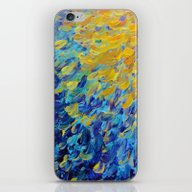 iPhone & iPod Skin featuring AQUATIC MELODY - Lovely … by EbiEmporium