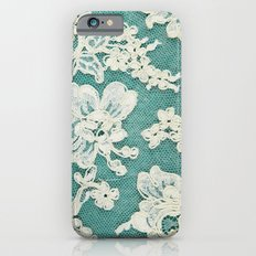 White Lace - Photo Of Vi… iPhone 6 Slim Case