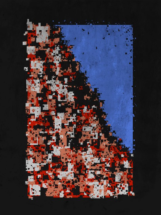 Densely populated  Art Print